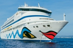 AIDAaura auf Kreuzfahrt. Foto: AIDA Cruises