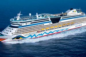 AIDAbella auf Kreuzfahrt. Foto: AIDA Cruises