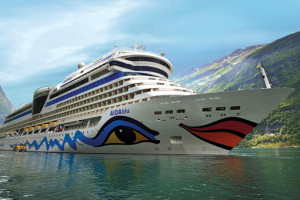 AIDAblu in Norwegen. Foto: AIDA Cruises