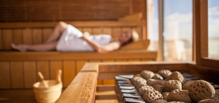 AIDA Sauna. Foto: AIDA Cruises