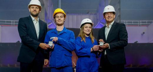 AIDAcosma Kiellegung auf der Neptun Werft in Rostock