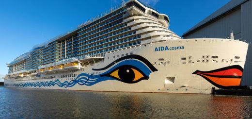 AIDAcosma auf der Meyer Werft