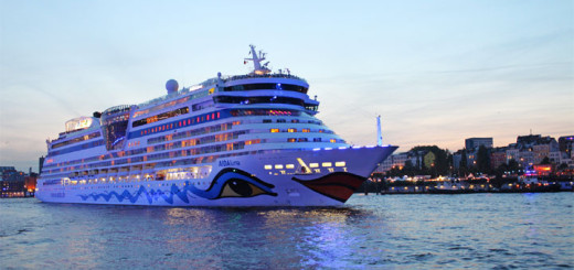 AIDAluna in Hamburg. Foto: AIDA Cruises