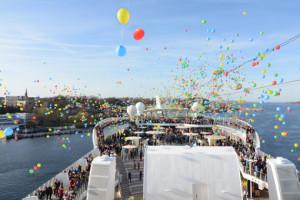 AIDAluna in Kiel. Foto: AIDA Cruises
