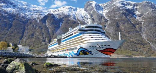 AIDAluna in Norwegen