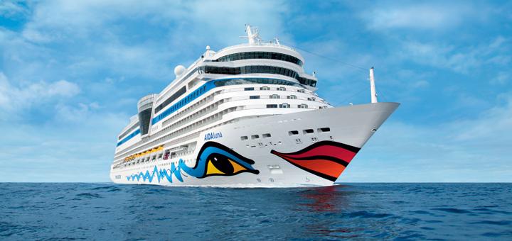 AIDAluna auf Kreuzfahrt. Foto: AIDA Cruises