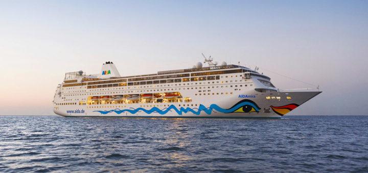 Östliches Mittelmeer mit AIDAmira