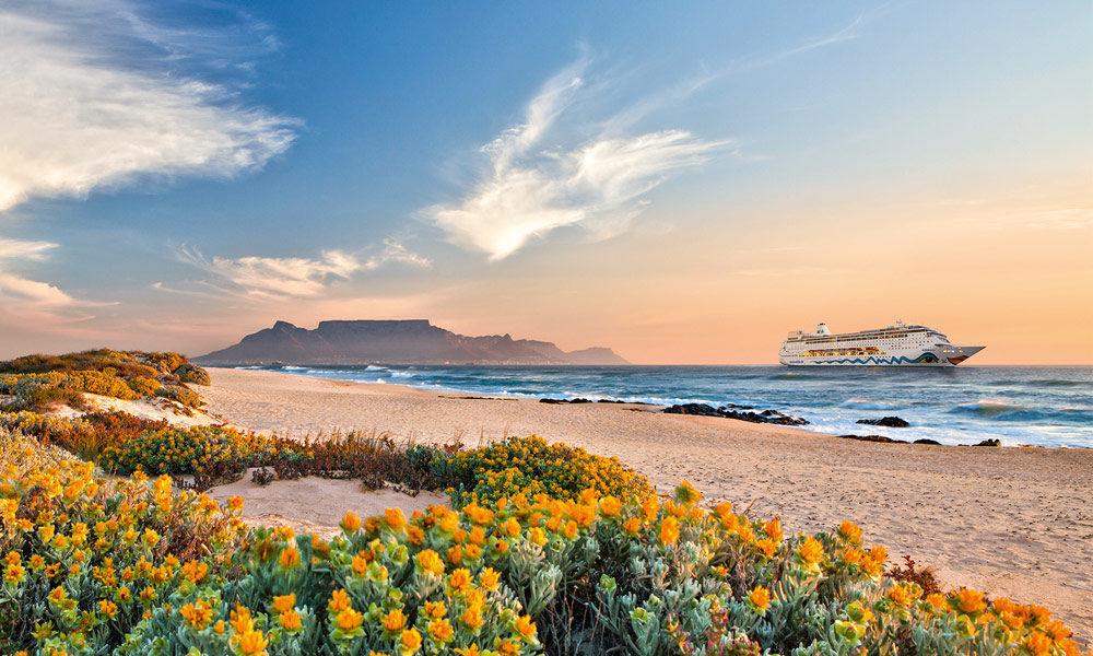 AIDAmira in Afrika. Foto: AIDA Cruises