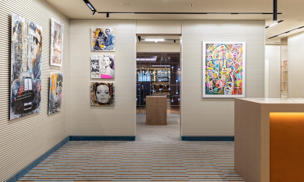 AIDAnova Art Gallery. Foto: AIDA Cruises