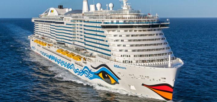 AIDAnova auf See. Foto: AIDA Cruises