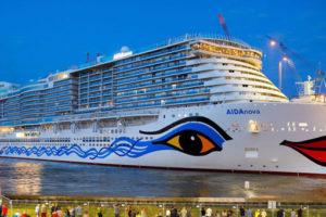 AIDAnova in Papenburg. Foto: AIDA Cruises