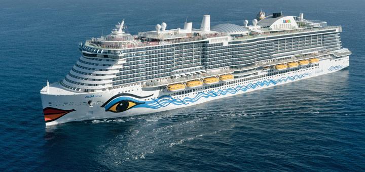 AIDAnova von AIDA Cruises. Foto: AIDA Cruises