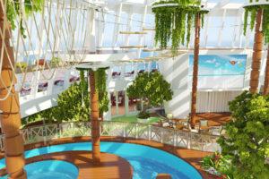 AIDAnova Four Elements. Foto: AIDA Cruises