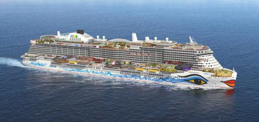 AIDAnova Querschnitt. Foto: AIDA Cruises