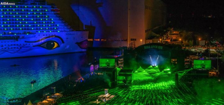 AIDA Open Air und Taufe von AIDAnova. Foto: Jan Schugardt / AIDA Cruises