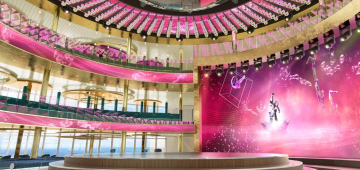 AIDAnova Theatrium. Foto: AIDA Cruises