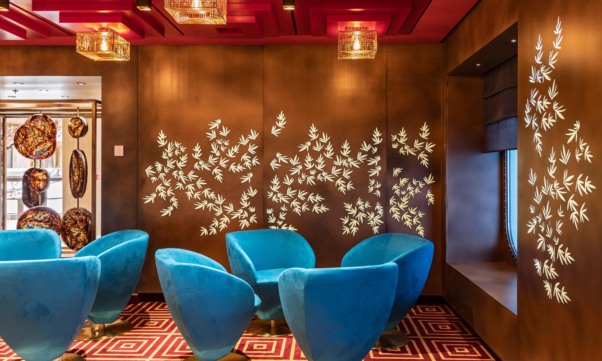 AIDAnova Tokyo Bar. Foto: AIDA Cruises