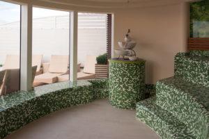 AIDAperla Organic Spa Sauna. Foto: Inside View