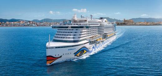AIDAperla in Palma de Mallorca. Foto: AIDA Cruises