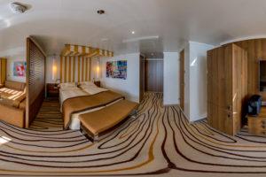 AIDAperla Suite. Foto: Inside View
