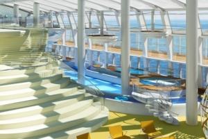 Relaxen auf AIDAprima. Foto: AIDA Cruises