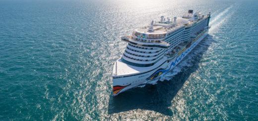 AIDAprima auf Kreuzfahrt. Foto: AIDA Cruises
