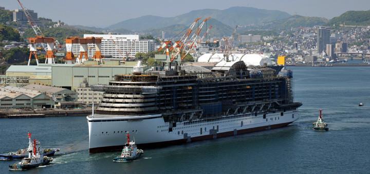Aidaprima Brand Auf Werft In Nagasaki Kreuzfahrtpiraten