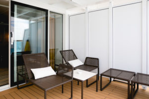 AIDAprima Panorama-Suite. Foto: Mister & Misses Do / Kreuzfahrtpiraten