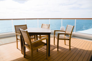 AIDAprima Panorama-Suite Balkon. Foto: Mister & Misses Do / Kreuzfahrtpiraten