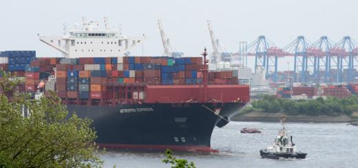Erste Container für AIDAprima auf dem Weg nach Japan. Foto: AIDA Cruises