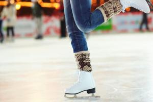 Eislaufen auf AIDAprima. Foto: AIDA Cruises