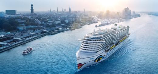 AIDAprima in Hamburg. Foto: AIDA Cruises
