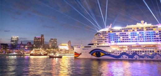 AIDAprima bei den Hamburg Cruise Days. Foto: AIDA Cruises