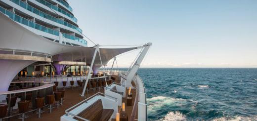 Heck von AIDAprima. Foto: AIDA Cruises