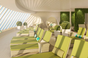 Organic-SPA auf AIDAprima. Foto: AIDA Cruises