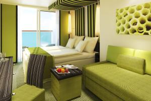 Panoramakabine auf AIDAprima. Foto: AIDA Cruises