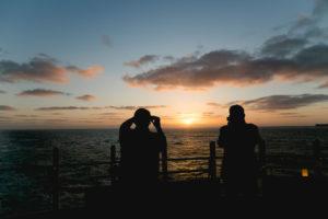 Sonnenuntergang auf AIDAprima. Foto: Mister & Misses Do / Kreuzfahrtpiraten