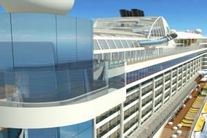 Skywalk von AIDAprima. Foto: AIDA Cruises