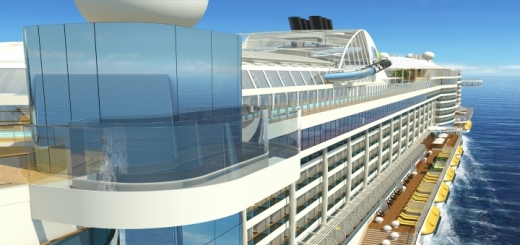 Skywalk von AIDAprima. Foto: AIDA Cruises