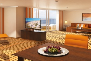 Suite auf AIDAprima. Foto: AIDA Cruises