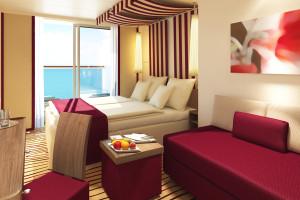 Verandakabine auf AIDAprima. Foto: AIDA Cruises