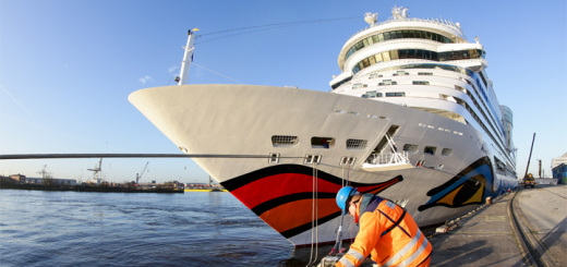 AIDAsol in Hamburg. Foto: AIDA Cruises
