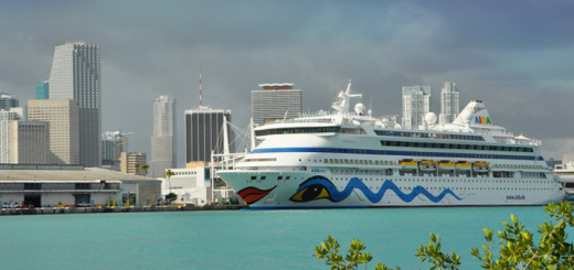 AIDAvita in Miami, USA. Foto: AIDA Cruises