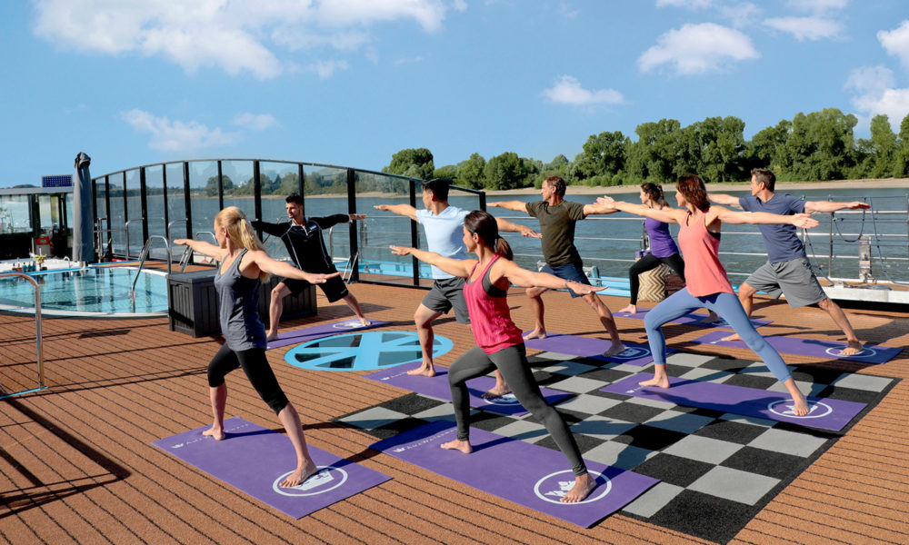 AmaWaterways Fitness und Yoga