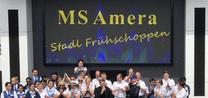 Corona-Spendenaktion zugunsten der Crew der MS Amera