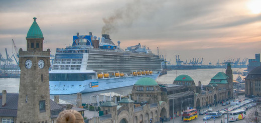 Anthem of the Seas in Hamburg. Foto: Michael Unzen