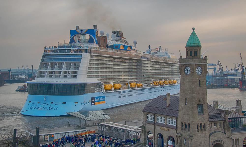 Anthem of the Seas in Hamburg. Foto: Michael Unzen