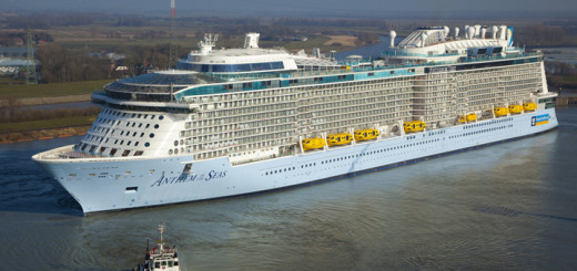 Anthem of the Seas in Papenburg. Foto: Meyer Werft