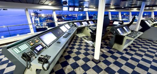 Brücke der Anthem of the Seas. Foto: Meyer Werft