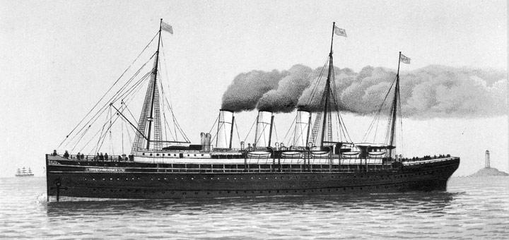 Augusta Victoria um 1890. Aus: Album von Hamburg